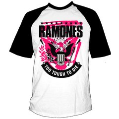 Remera RAMONES - Too Tough to Die  Manga Rangla
