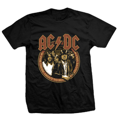 Remera ACDC - We salute You