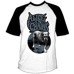 Remera ALICE IN CHAINS -Dog  Manga Rangla