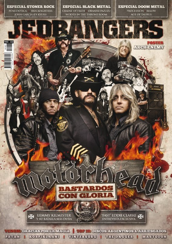 Jedbangers #083 Motörhead John Garcia Poseidotica Black Metal Cradle of Filth Doom Metal