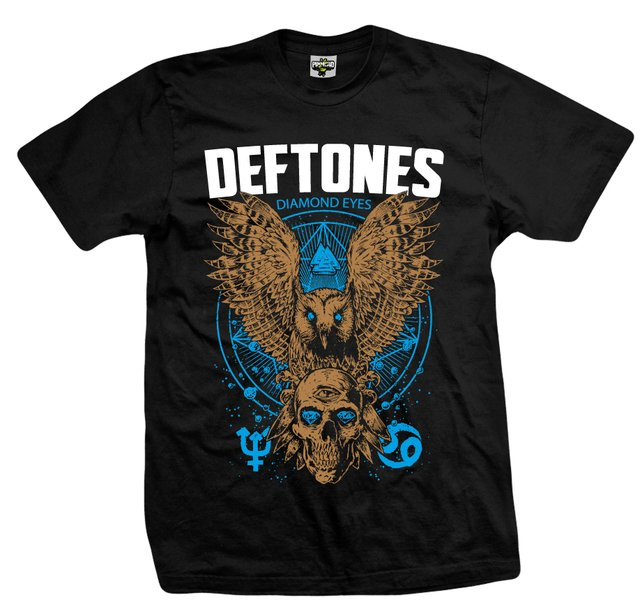 REMERA Deftones Diamond Eyes