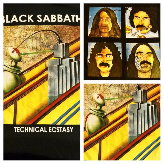 Remera Black Sabbath - Technical Ecstasy
