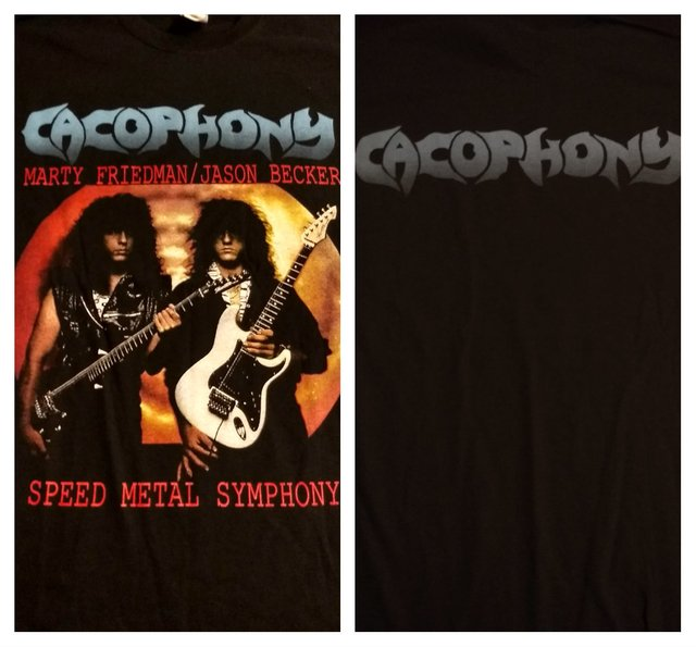 Remera Cacophony - Speed Metal Symphony