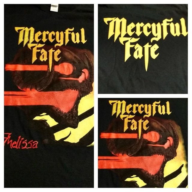 Remera Mercyful Fate - Melissa