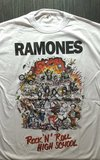Remera Ramones - Rock ' Roll High School
