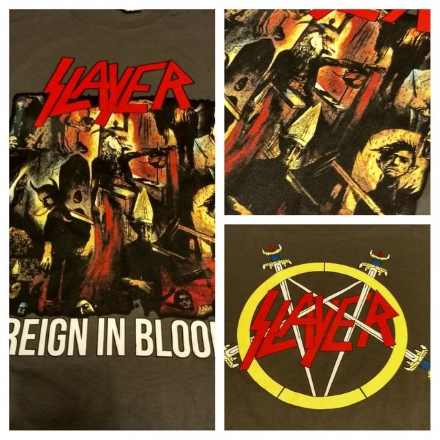 Remera Slayer - Reign In Blood