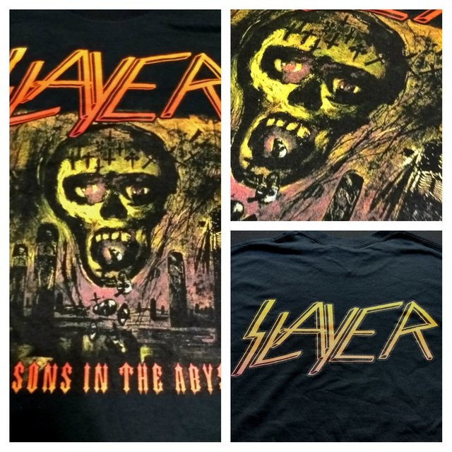 Remera Slayer - Season in the Abyss