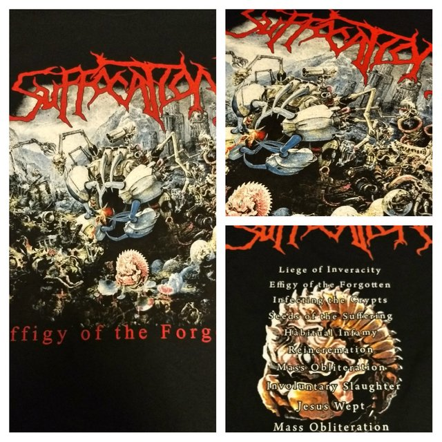 Remera Suffocation - Effigy of the Forgotten
