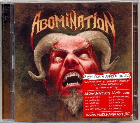 ABOMINATION - Abomination + Tragedy strikes