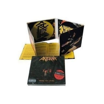 anthrax - among the living deluxe (CD+DVD Digipak) - comprar online