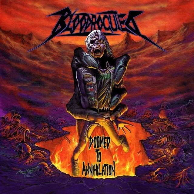 Bloodrocuted - Doomed To Annihilation - comprar online