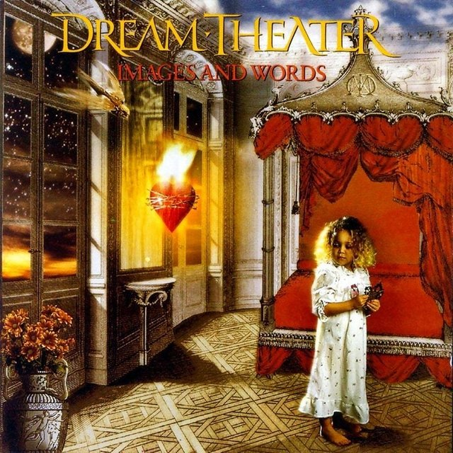 DREAM THEATER - IMAGES AND WORDS  (vinilo)