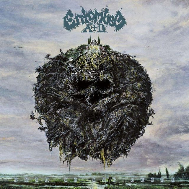 Entombed Ad - Back To The Front