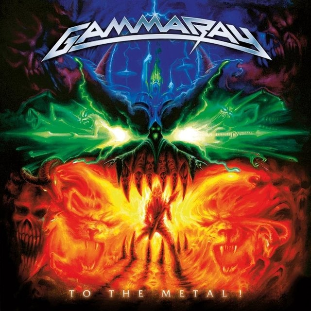 Gamma Ray To The Metal - comprar online