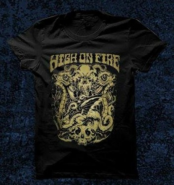 Remera High On Fire - comprar online