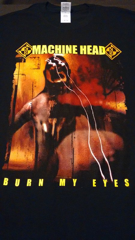 Remera Machine head - Burn My Eyes
