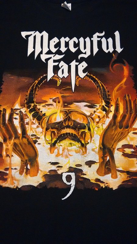 Remera Mercyful Fate - 9