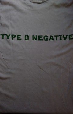 Remera de Mujer Type O Negative (Blanca) - October Rust - comprar online