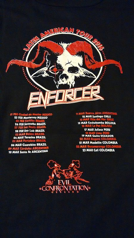 Remera Enforcer - Tour 2016 en internet
