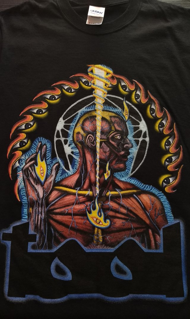 Remera Tool - Lateralus