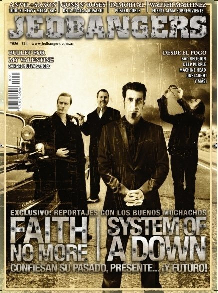 Jedbangers #056 System of a Down Faith No More