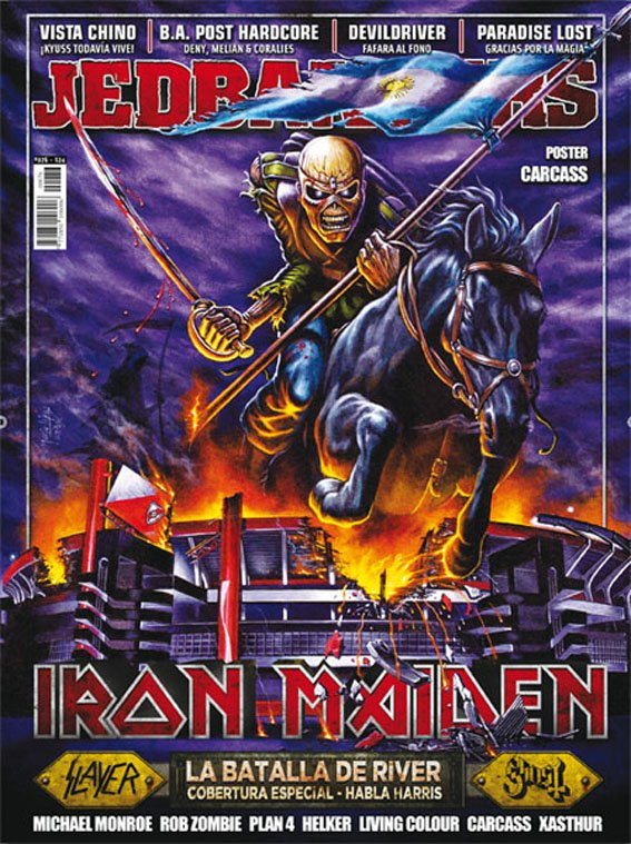 Jedbangers #076 Iron Maiden Slayer Ghost Vista Chino Devildriver Paradise Lost Xasthur