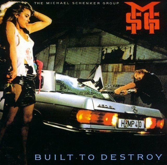 The Michael Schenker Group - Built to Destroy Group (8 bonus) - comprar online