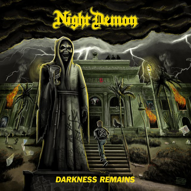 Night Demon - Darkness-Remains