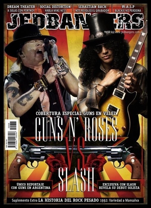 Jedbangers #038 Guns And Roses VS Slash
