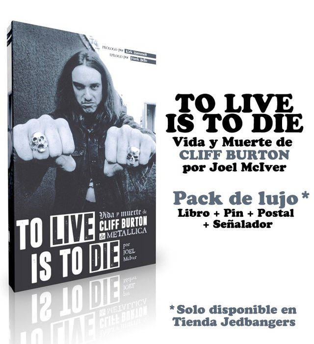 Cliff Burton: To Live is To Die - comprar online
