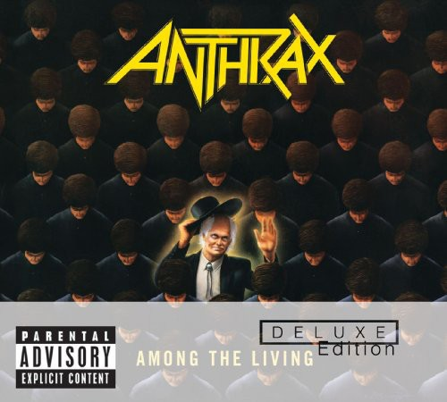anthrax - among the living deluxe (CD+DVD Digipak)