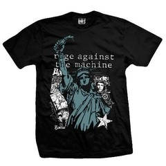 "REMERA RAGE AGAINST THE MACHINE ""Liberty"" - comprar online"