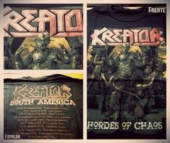 Remera Kreator - Hordes of Chaos Tour 2009