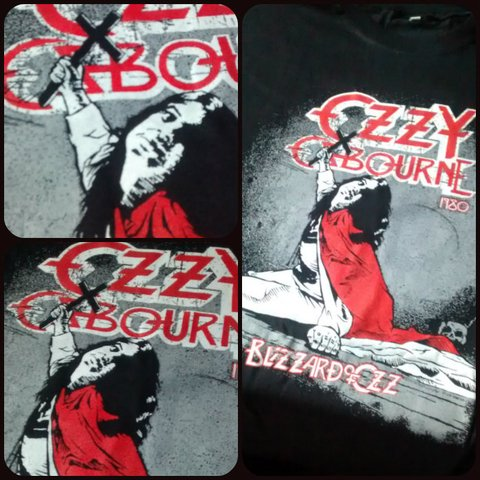 Remera Ozzy - Blizzard of Ozz