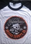 REMERA SOCIAL DISTORTION manga rangla (Sick Boys)