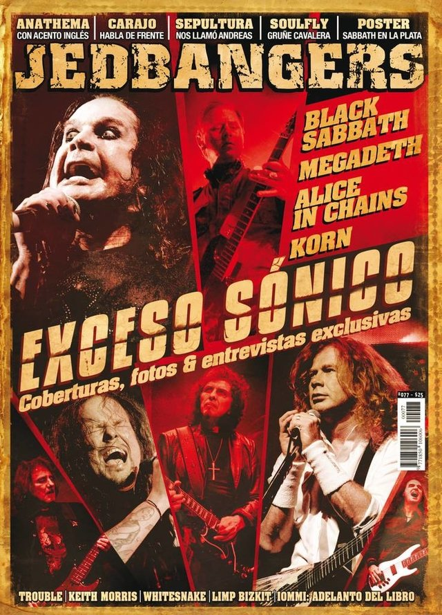 Jedbangers #077 Black Sabbath Megadeth Alice in chains Korn Sepultura Soulfly Carajo Anathema