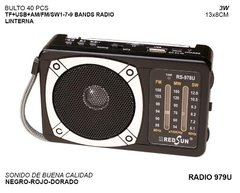 Parlante Bluetooth Radio AM/FM 979U