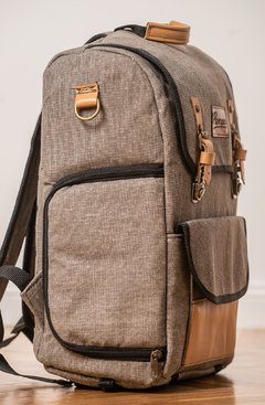 Mochila Pampa Oxford (Marron) en internet