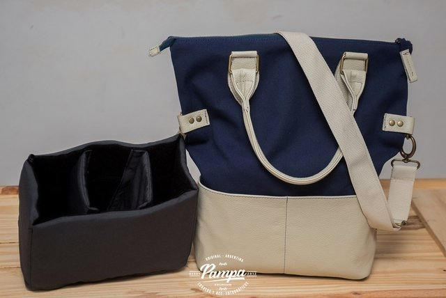 Bolso cartera Pampa - Blue navy