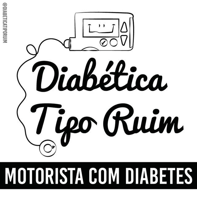 Adesivo Vinil Diabética Tipo Ruim  ff013bdf7ff