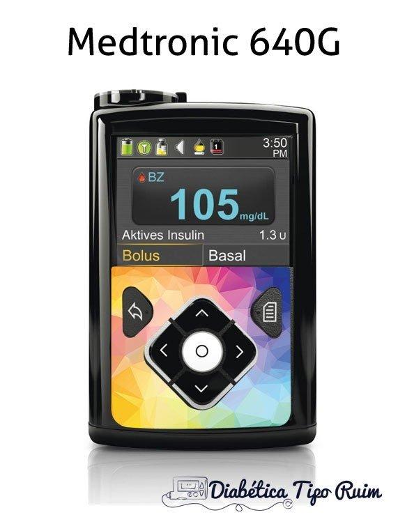 Adesivo Bomba Medtronic 640G  3d07f5556a6