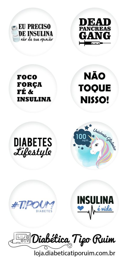Kit com 8 adesivos FreeStyle Libre | Diabetes Feelings - comprar online