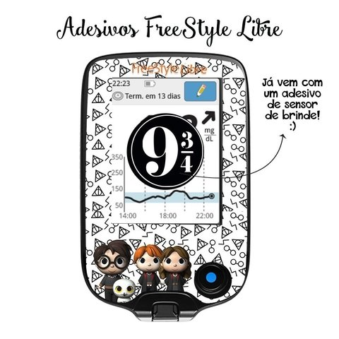 Adesivo Skin FreeStyle Libre | Harry Potter
