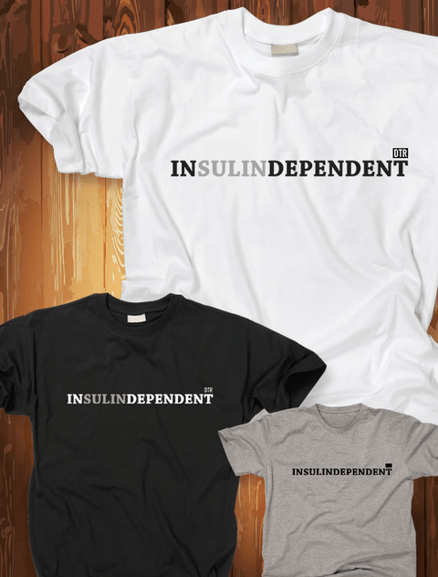 Camiseta Diabetes |INsulinDEPENDENT