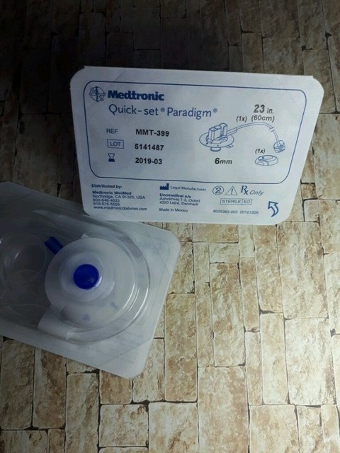 Quick-set Paradigm Medtronic