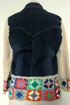 Campera Juana Crochet en internet