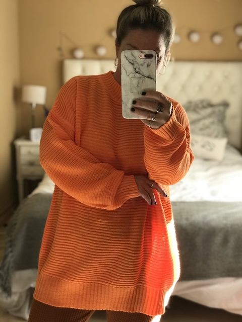 Sweater Kelly Naranja