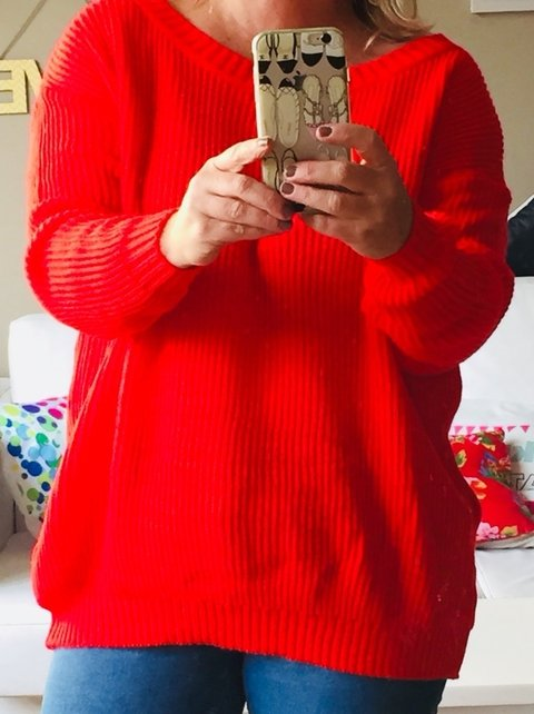 Sweater Jackson Red