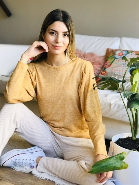 Sweater Trendy Lanilla Curry