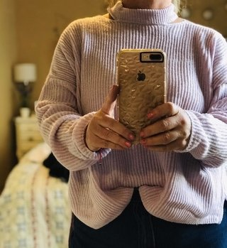 Sweater Neck Lila